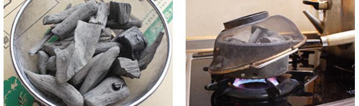 紀州備長炭の品質テスト