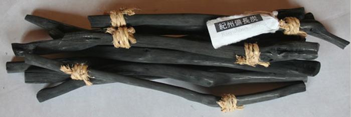紀州備長炭ミニ研磨炭(30cm-40cm)