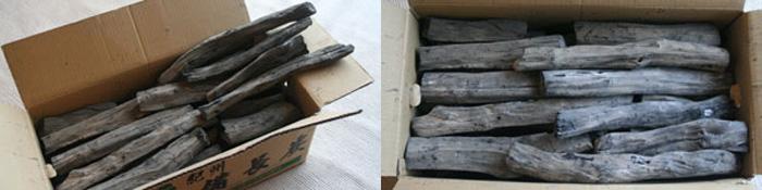 紀州備長炭業務用半・割15kg